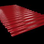 Chapa minionda rojo coral