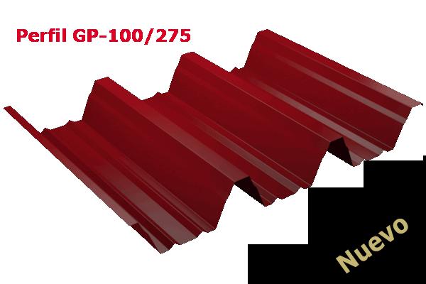 chapa Trapezoidal grandes luces GP-100/275