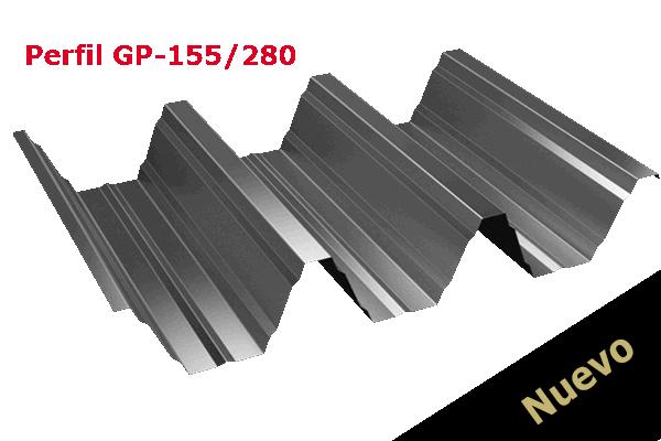 Perfil GP-155-280 para grandes luces