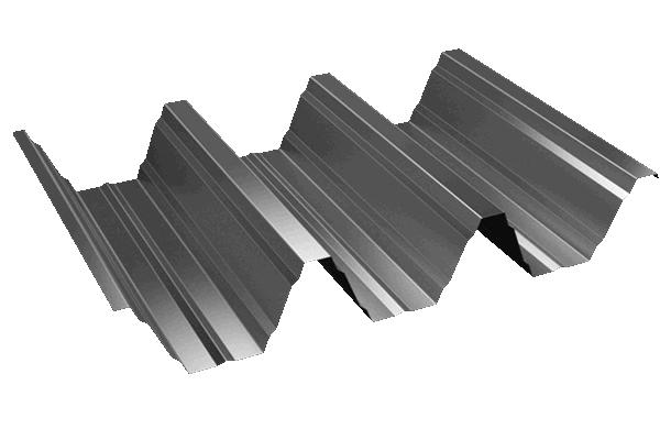 Chapa trapezoidal galvanizada