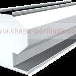 Aireador estático lineal para ventilación industrial en cubierta.