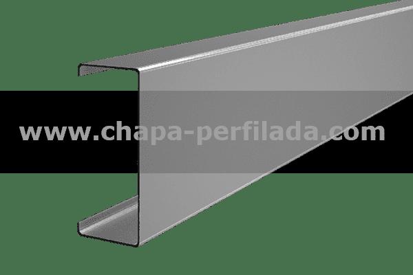 Perfil tipo C para estructuras metalicas