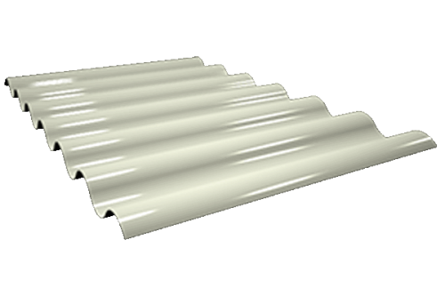 Chapa Gran onda perfil GP-44/155,