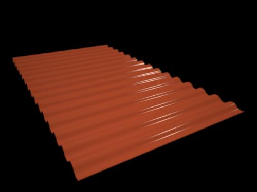 Chapa minionda roja